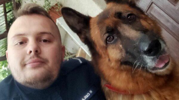 pies, psa, ze schroniska, piesek, psy, schronisko pies, policjant pies, do schroniska, zaopiekował się,