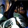 pościg, ucieczka, taranował radiowóz, ucieczka policji, pościg policyjny, narkotyki, wypadek. zatrzymanie po pościgu,