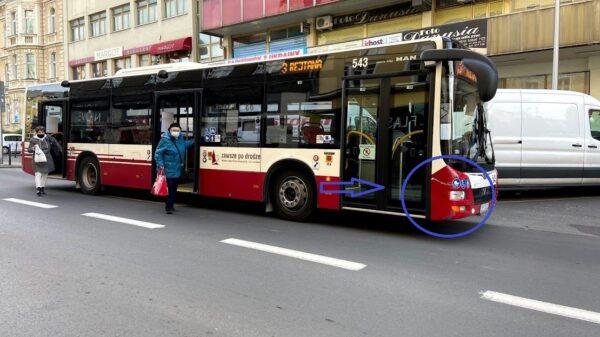 zderzenie samochodu z autobusem, kolizja z autobusem, komizja z msk , mzk opole, mzk w opolu, kolicja mzka opole, kolizja autobusu mzk, osobowy z autobusem,