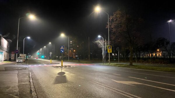 akcja protestacyjna, protest opole, protest w opolu, ogólnopolski protest, wygaszanie miasta, miasto w ciemnościach,