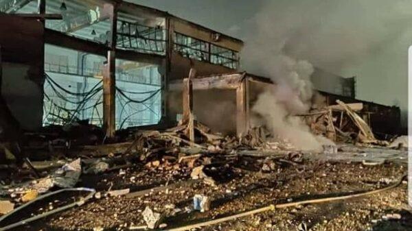 eksplozja, ekspolzja w zakładzie, wybuch na zakładzie w Kędzierzynie-Koźlu, wybuch hali z magnezem, wybuch magnezu, wybuch w opolskim, wybuch, zniszczona hala wybuchm, ofiary wybuchu, poszkodowani w wybuchu,
