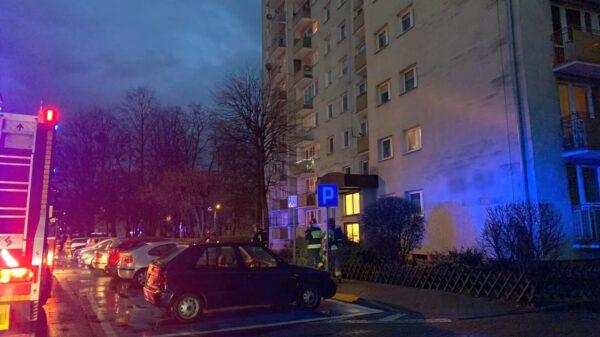 pożar, pożar w opolu, pożar garnka na gazie, zadymienie, zgłoszenie pożaru, pożar dambonia opole, osp, szczepanowice, osp szczepanowice, straż Opole,