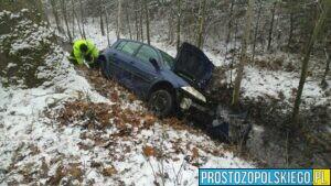wypadek popielów, wypadek karłowice, wypadek 2 samochodów, OSP Karłowice, OSP Popielów, wypadki w polsce, polskie wypadki,