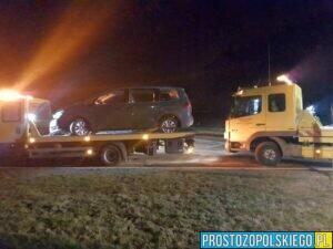 Zderzenie dwóch aut na DK46 w miejscowości Pakosławice.