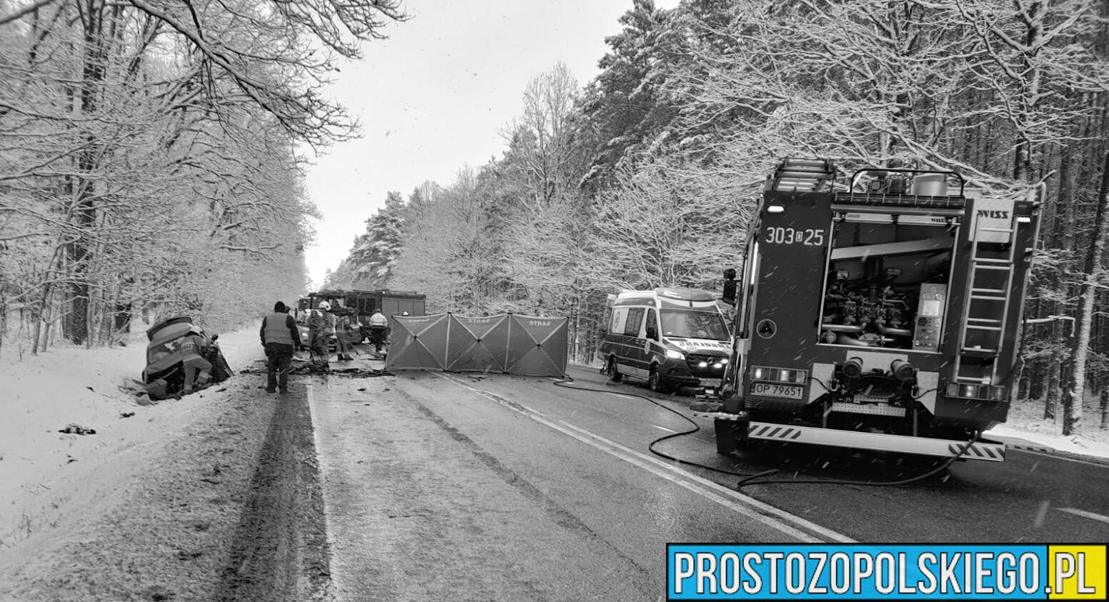 wypadek śmiertelny dąbrowa koło niemodlina, wypadek śmiertelny koło A4