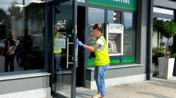 Bezrobotny fryzjer napadł na bank w Czarnowąsach. Wyrok to 4 lata pozbawienia wolności i 2 tys. zadośćuczynienia pracownicy banku.