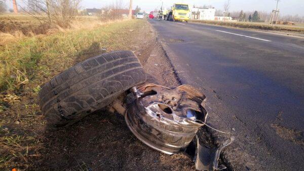 To cud, ze nikt nie zginął w tym zdarzeniu drogowym !