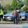 Policjanci zatrzymali 42-latka jadącego rowerem, który miał 2 promile alkoholu w organizmie.