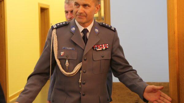 Jarosław Kaleta odchodzi ze stanowiska Opolskiego komendanta wojewódzkiego policji.