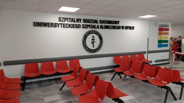 Uroczyste otwarcie po remoncie Szpitalnego Oddziału Ratunkowego w Opolu.