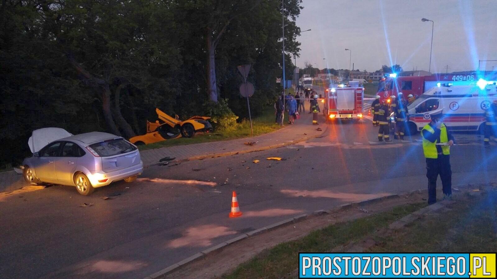 29-latek rozbił Mclarena w Krapkowicach .Sąd umorzył postępowanie.