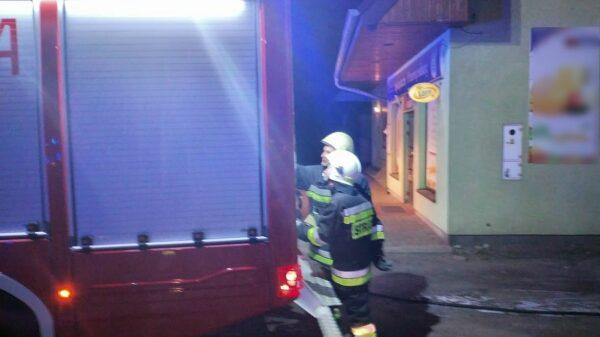 Strażacy interweniowali w Węgrach