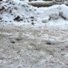 zima, zima w opolu, zasypane choniki, nie odsnieżone chodniki, zasypane śniegiem chodniki, zima w mieście, chodniki w śnniegu, kary za brak odśnieżania, Nie odśnieżone chodniki na terenie Opola.MZD w Opolu nalicza karę od wykonawcy!