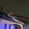 pożąr budynku, pożar krapkowice, wiadomości karpkowice, informacje krapkowice, pożary krapkowice, Pożar budynku w Krapkowicach.