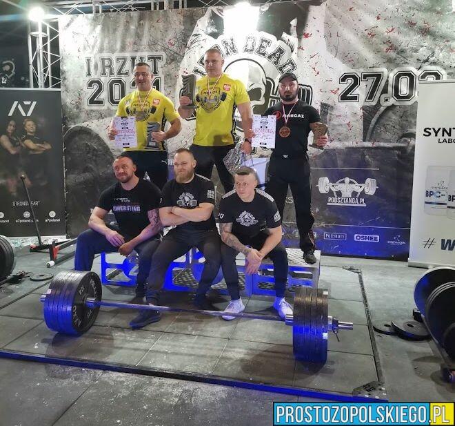 Opolanin na 3 miejscu w zawodach IRON DEAD LEAGUE we Wrocławiu.
