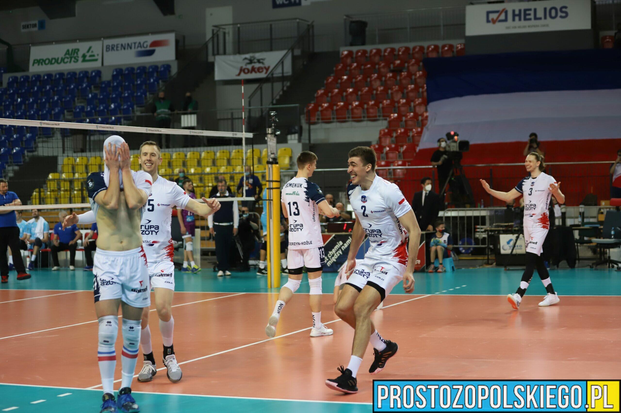Zenit pokonany, ZAKSA w finale Ligi Mistrzów!