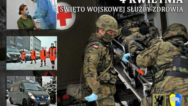 4 kwietnia obchodzimy święto Wojskowej Służby Zdrowia.