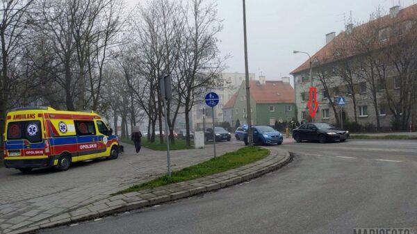Potrącenie pieszego na pasach w centrum Opola.