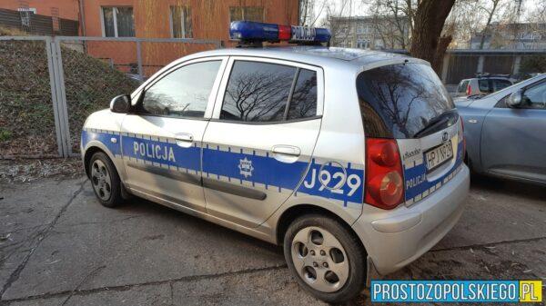 32- latek włamał się do domu i łupy wywiózł samochodem właściciela posesji.