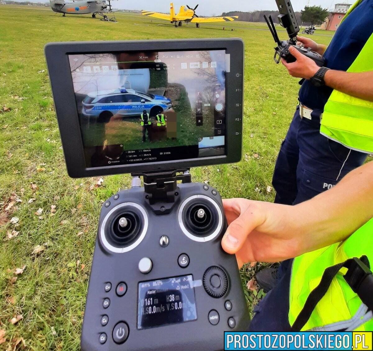 NOWY DRON USPRAWNI PRACĘ POLICJANTÓW Z OPOLA