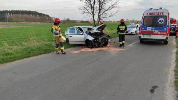 Kierująca skodą straciła panowanie nad autem i uderzyła w drzewo.(Zdjęcia&Wideo)