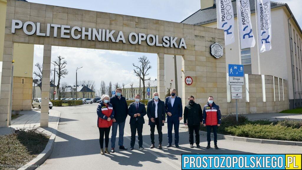 Na Politechnice Opolskiej uruchamiany jest masowy punkt szczepień.