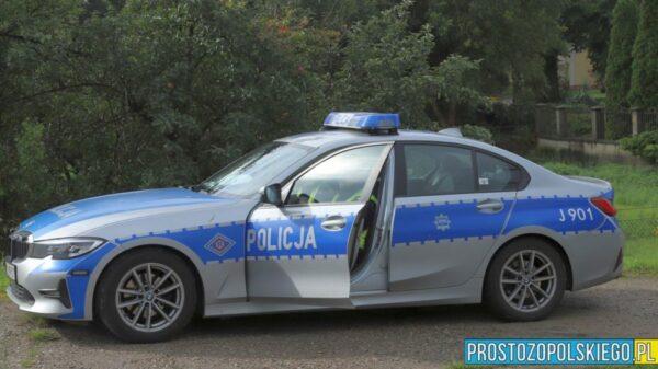 Policjanci zatrzymali kierującego audi, który miał w swoim organizmie blisko 2 promile alkoholu.