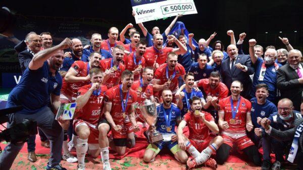 ZAKSA najlepszym zespołem w Europie !!