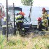 Wypadek na ul. Krapkowickiej w Opolu. Trzy osoby zabrane do szpitala.