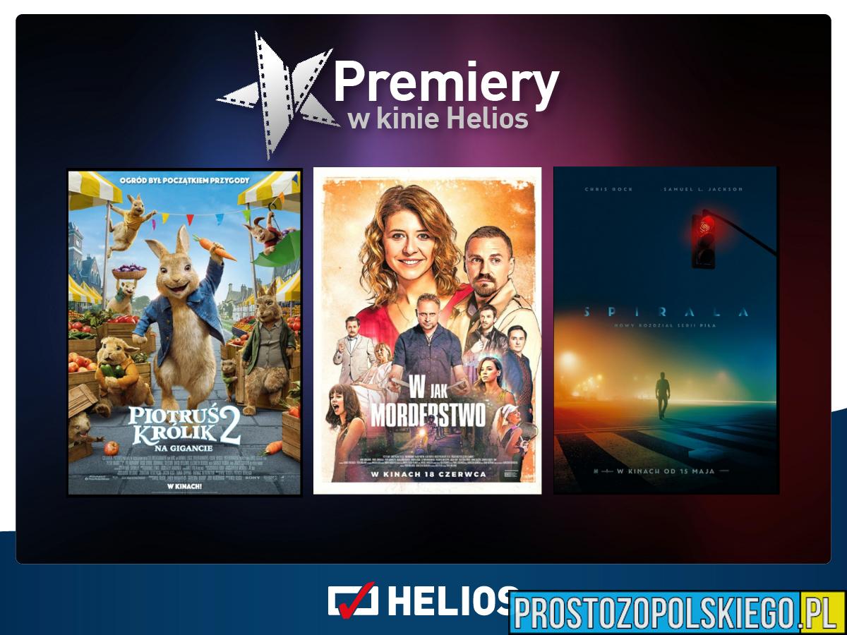 Gorące premiery w kinach Helios!