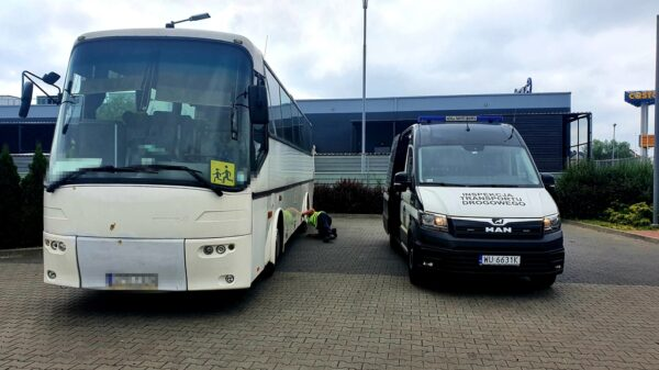 WITD zakazało dalszej jazdy kierowcy autobusu, który przewoził dzieci na wycieczkę szkolną. Okazało się...