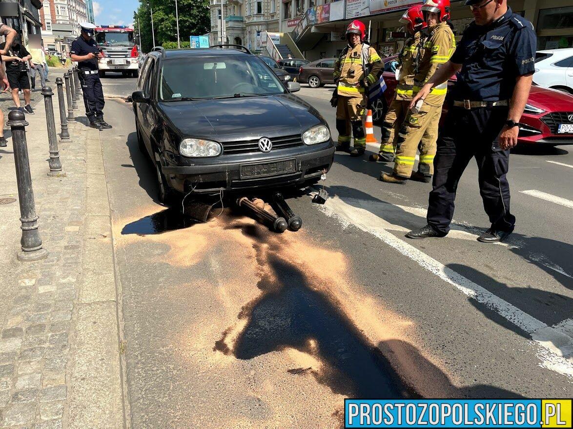 21-latek stracił panowanie nad autem bawiąc się komórką i wjechał w ...