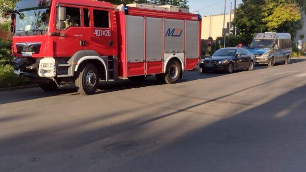 Kierowca bmw potrącił na przejściu dla pieszych 8-latka.(Zdjęcia)