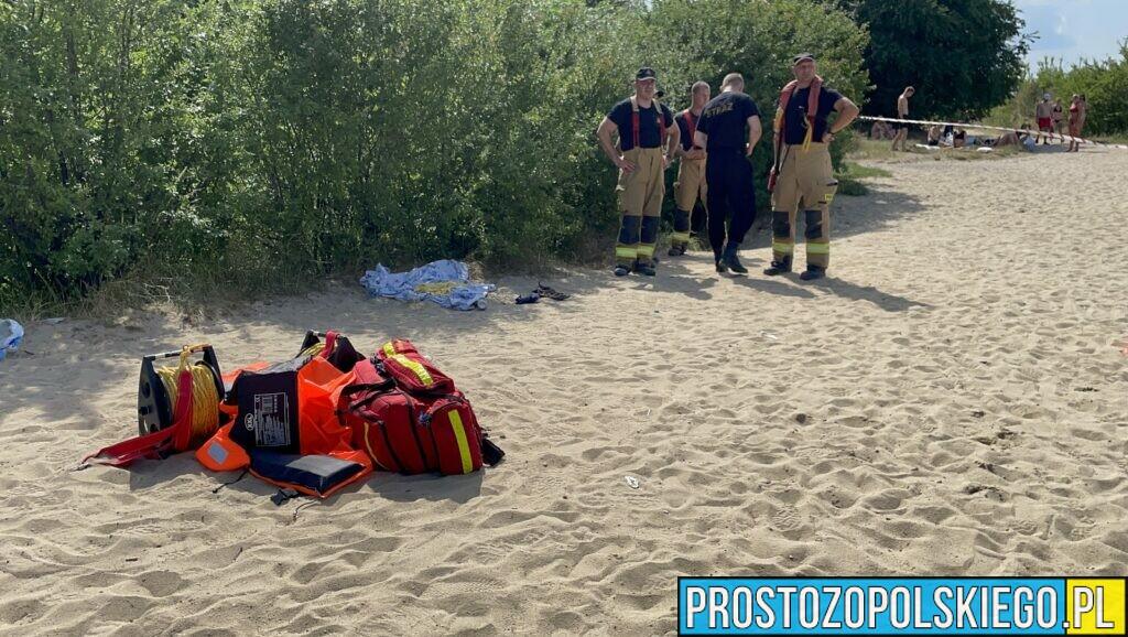 Poszukiwanie mężczyzny na kąpielisku Silesia w Opolu.(Zdjęcia&Wideo)
