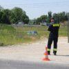 Podejrzane beczki z nieznaną zawartością pod elektrownią Opole, interweniowała grupa chemiczna z Opola.