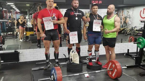 Vicemistrz Polski Strongman znów na najwyższym podium w Dąbrowie Górniczej!