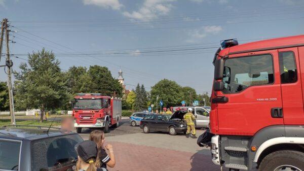 Zderzenie busa z audi w Łosiowie.(Zdjecia&Wideo)