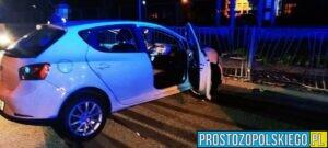 37-latek mający ponad dwa promile alkoholu rozbił seatem zaparkowane na osiedlu samochody osobowe.(Zdjęcia)