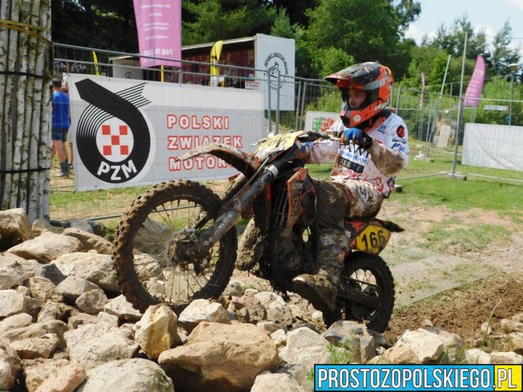 Patryk Kuleszo z opolskiego HAWI Racing Team wygrał motocyklowy rajd enduro w Nowym Kościele.