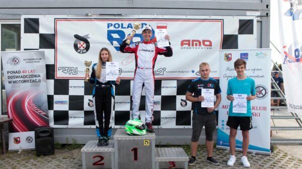 KAMIL GRABOWSKI z opolskiego HAWI Racing Team wygrał 3. rundę kartingowej serii Rok Cup Poland.