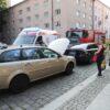 Zderzenie 4 aut na ul. Piastowskiej w Opolu.(Zdjęcia)
