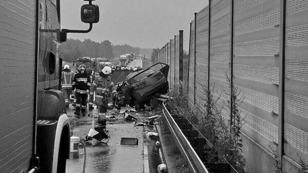 Wypadek śmiertelny na obwodnicy Opola.(Zdjęcia&Wideo)