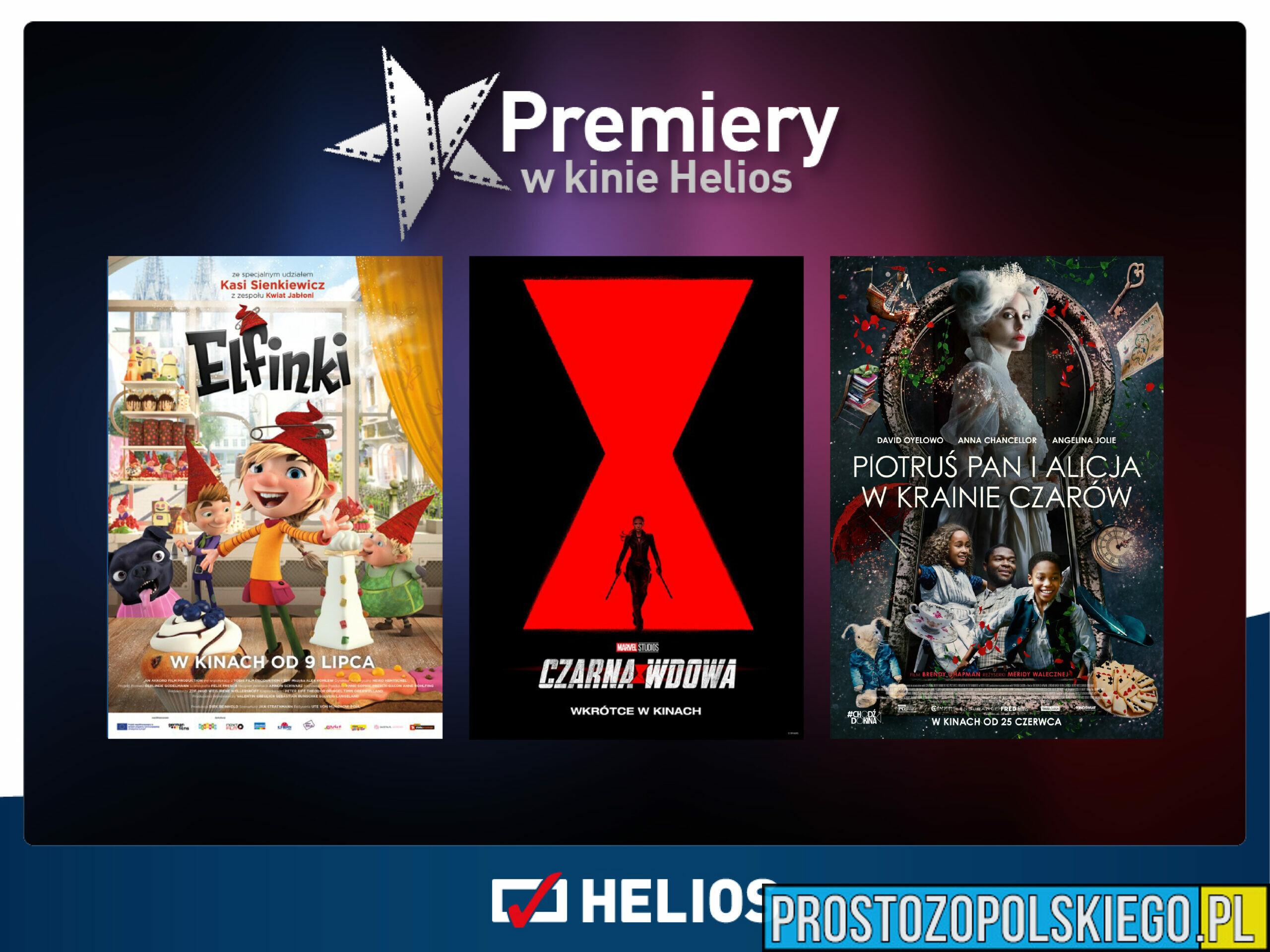 Gorące filmowe lato w kinach Helios!