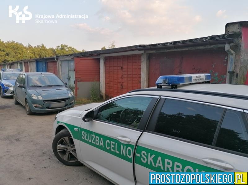 Spirytus, papierosy i tytoń bez polskich znaków akcyzy.(Zdjęcia)