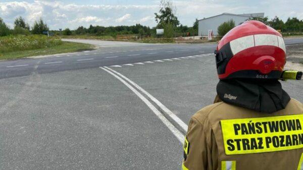 Ewakuowani pracownicy dwóch zakładów z uwagi na znaleziony niewybuch.