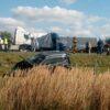Policjanci wyjaśniają okoliczności wypadku drogowego na autostradzie A4.