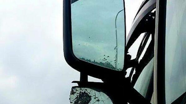 Fatalny stan techniczny 40-tonowej ciężarówki .(Zdjęcia)
