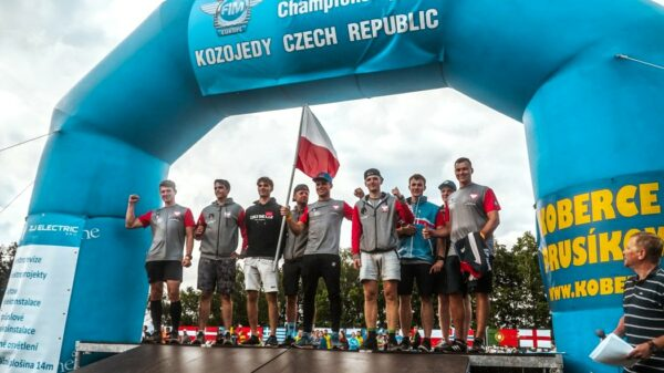 Patryk Kuleszo zadebiutował w Mistrzostwach Europy Enduro