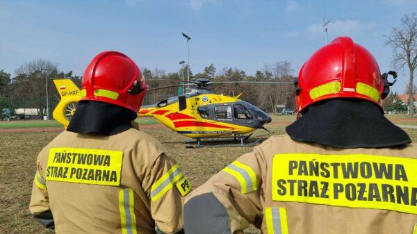 Wypadek w zakładzie pracy w Skarbimierzu-Osiedle. Został poparzony mężczyzna.