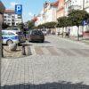 Potrącenie 70-latki przez kierującego bmw 21-latka w Namysłowie.(Zdjęcia)